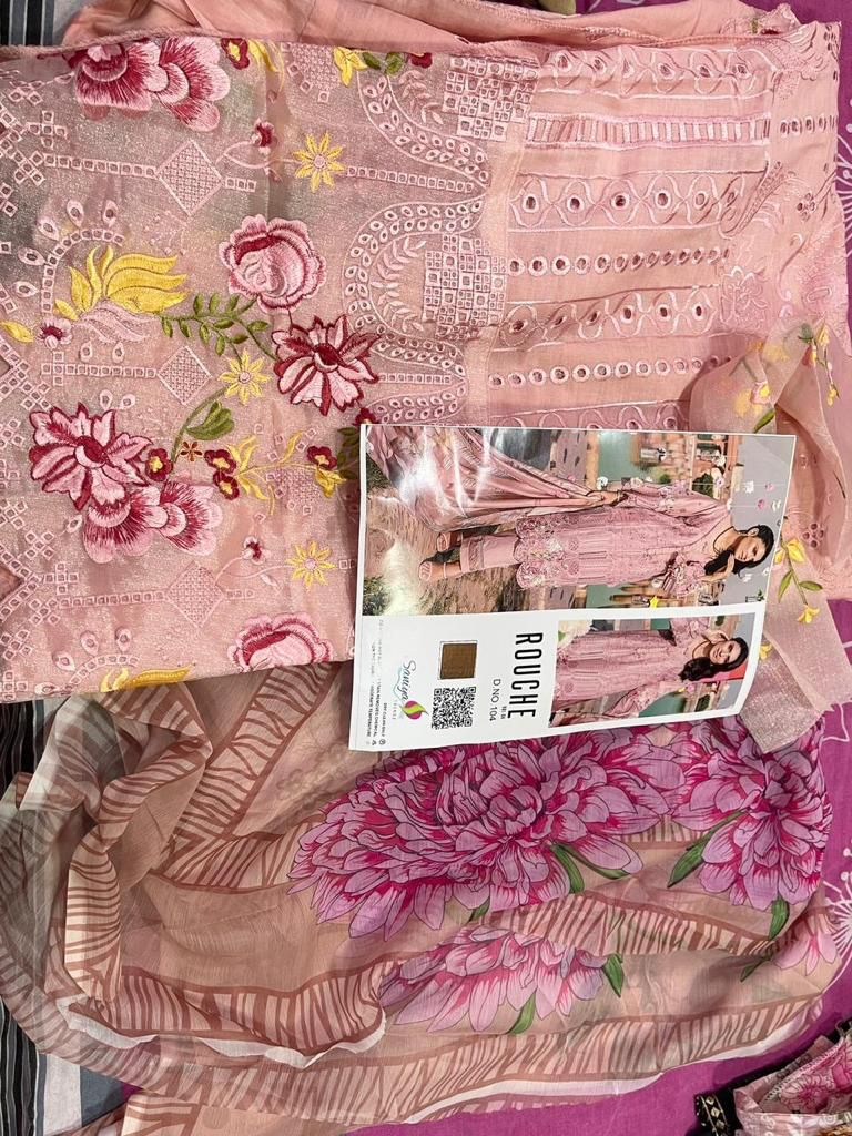Saaniya Trendz Rouche Vol 4 Nx Pakistani Salwar Suits Catalog Lowest Price