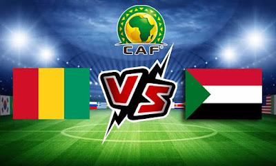 غينيا و السودان بث مباشر