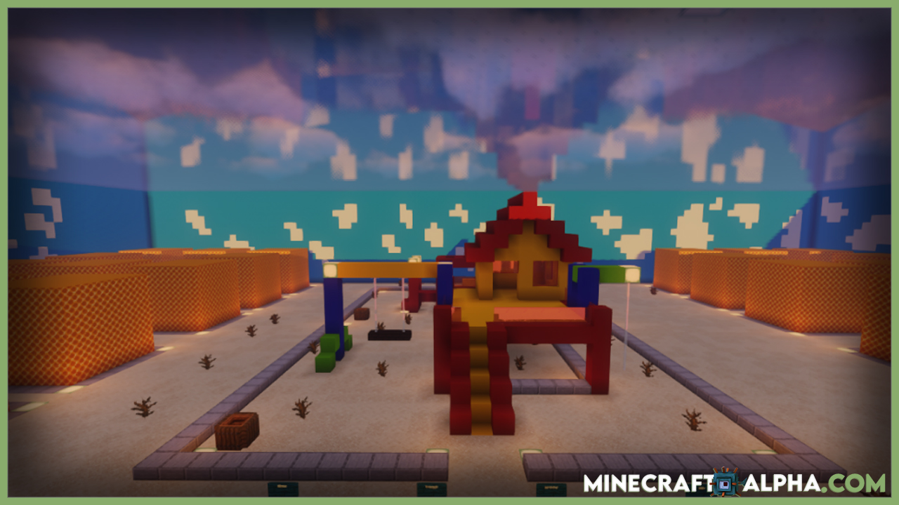 Minecraft Squid Game Map 1.17.1