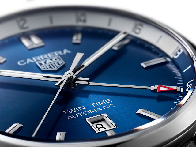 TAG Heuer Carrera Twin-Time Date 41 mm WBN201A.BA0640