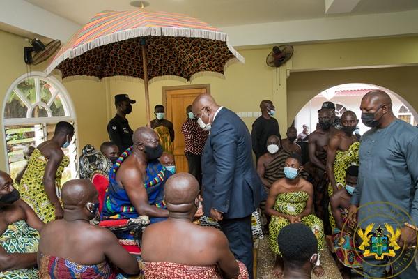 """I Am Grateful To Asanteman For Its Unflinching Support"" – Prez. Akufo-addo To Asantehene"