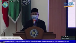 Rektor Uhamka sampaikan 4 Poin Penting pada Pelantikan Dekan FIKES