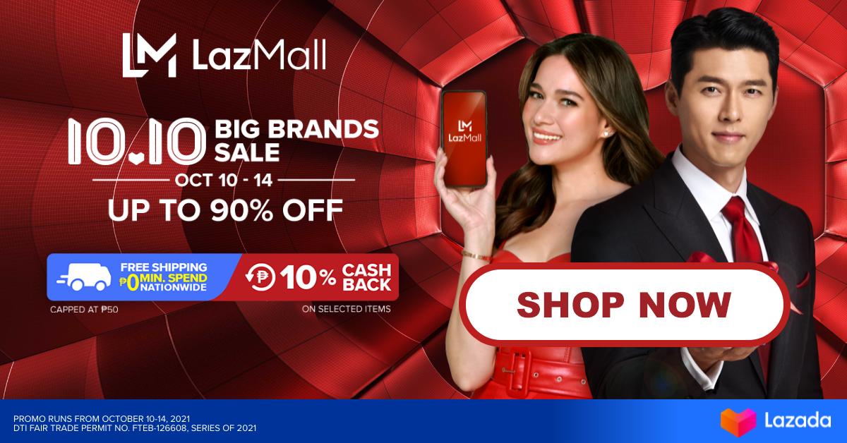 LazMall 10.10 Big Brands Sale