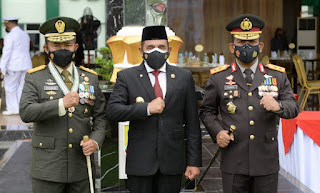 HUT ke-76 TNI, Edy Rahmayadi Harapkan Sinergitas Semakin Kuat