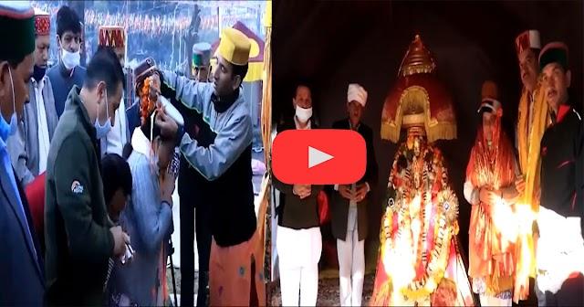 देवी-देवताओं का आशीर्वाद लेने दशहरा उत्सव में पहुंची प्रतिभा सिंह, नजराने को लेकर कही बड़ी बात