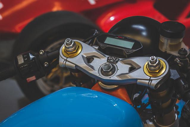 Yamaha RD350 By Bolt Motor Co. Hell Kustom