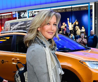 David Haffenreffer's ex-wife Lara Spencer picture with car in the background