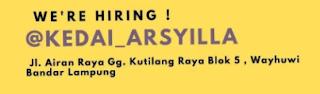 Kedai Arsyilla