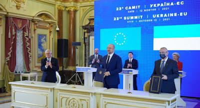 """Украина и ЕС подписали соглашение об """"открытом небе"""""""