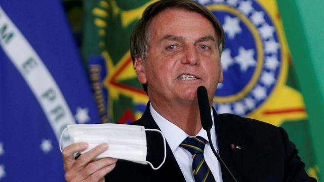 Presiden Brasil Tegaskan Tak Akan Divaksin Covid: Itu Hak Setiap Orang