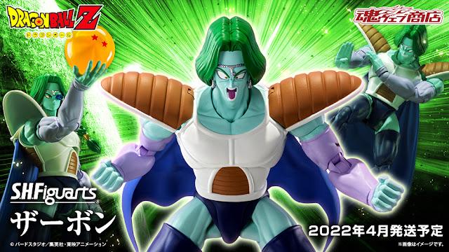 Dragon Ball Z – S.H. Figuarts Zarbon, Tamashii Nations