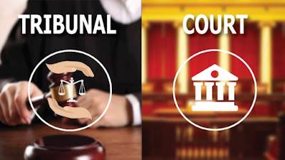 tribunal vs court