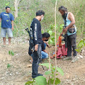 Tim Puma Polres Bima Kembali Bubarkan Judi Sabung Ayam