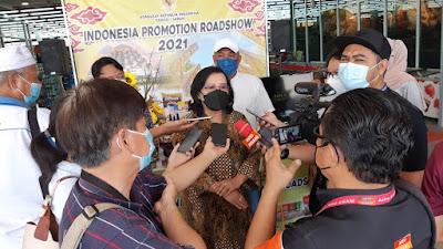 KRI Tawau Selenggarakan Indonesia Promotion Road Show 2021