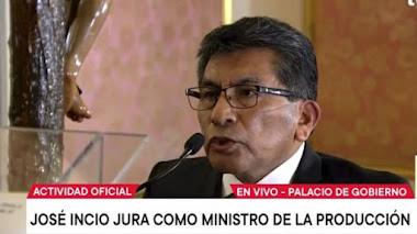 José Incio Sánchez es el nuevo ministro de Producción, ¿cuál es su trayectoria?