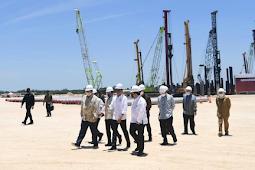 Jokowi Lakukan Groundbreaking Pembangunan Smelter PT Freeport Indonesia di Gresik