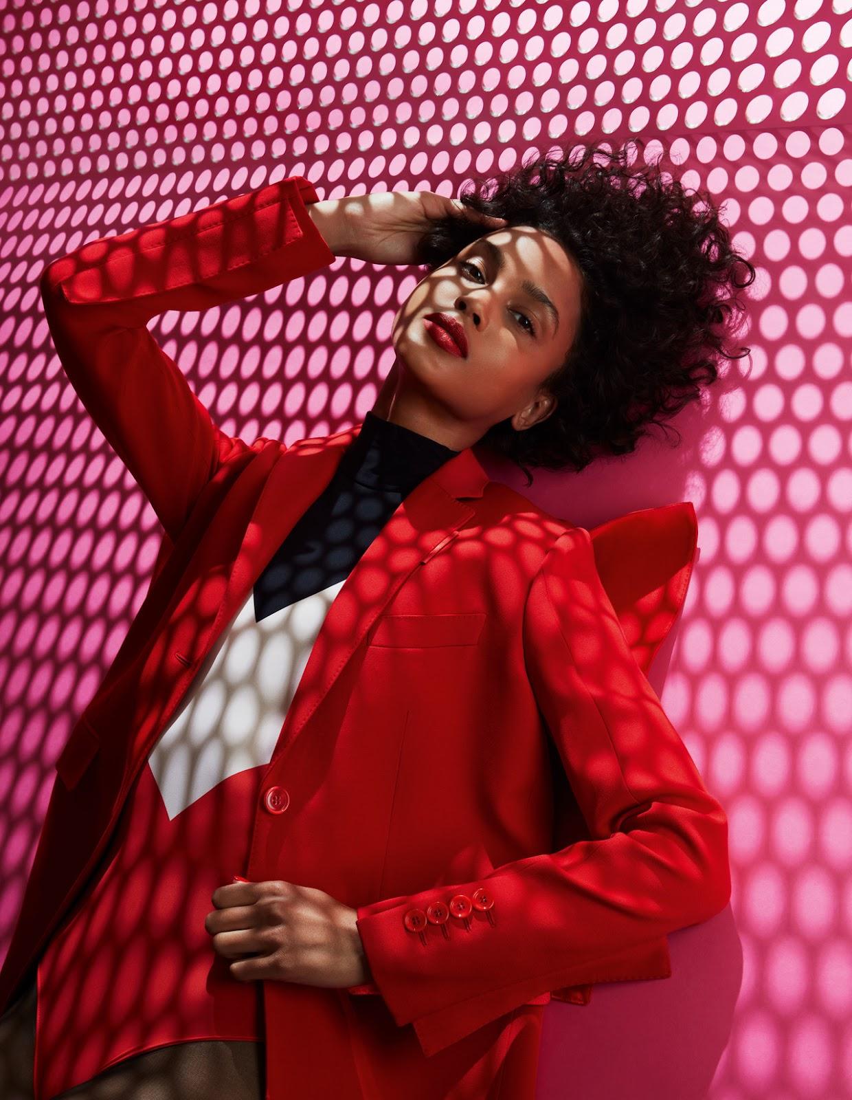 SMILE: Malaika Holmén in Vogue Scandinavia October 2021 by Sølve Sundsbø