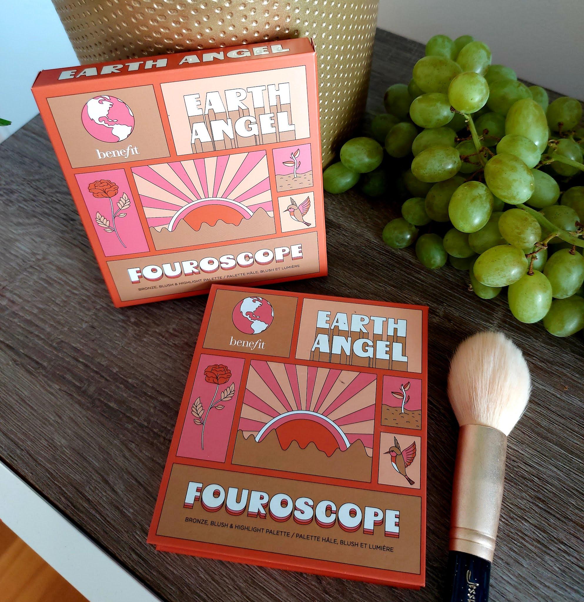Paleta do makijażu twarzy Fouroscope Earth Angel od Benefit, czyli bestsellery razy cztery Aneta Lason Beauty Talks