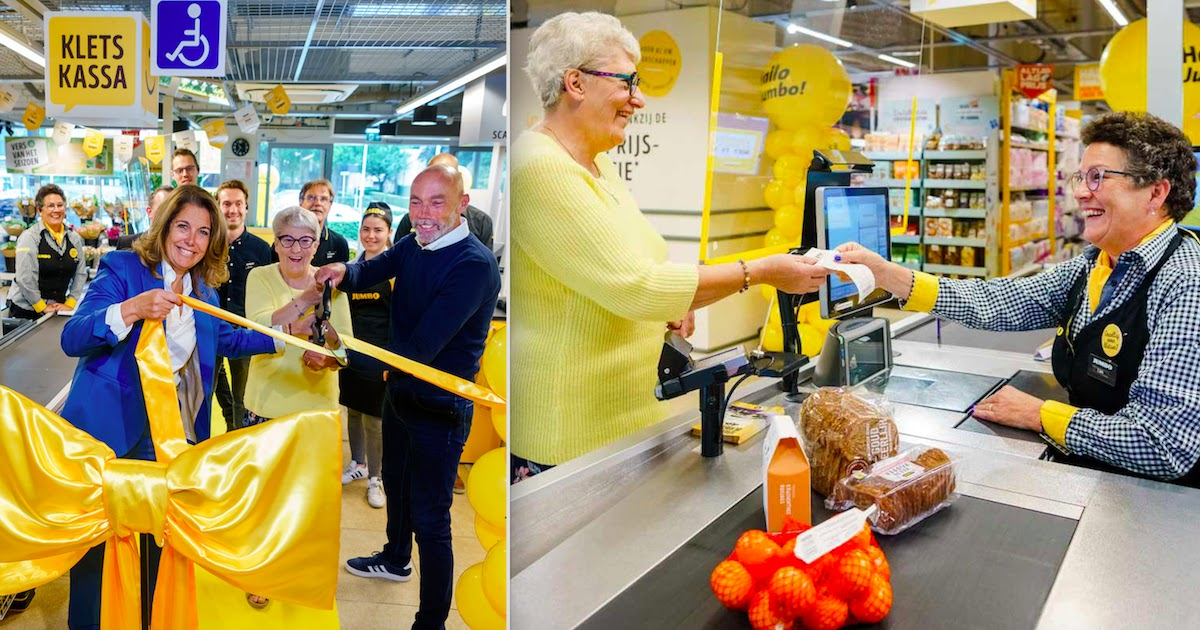 Dutch Supermarket Chain Opens Slower 'Chat Checkouts' In An Effort To Combat Loneliness Among The Elderly