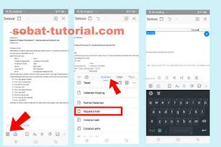 Cara Membuat Header dan Footer di Wps Office Android