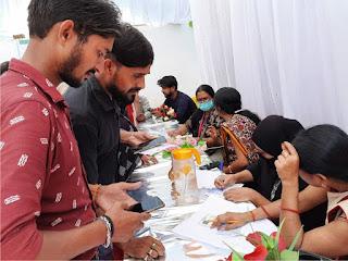 इमामे जमाना वेल्फेयर ट्रस्ट ने कोविड-19 वैक्सीनेशन शिविर का किया आयोजन  | #NayaSaberaNetwork