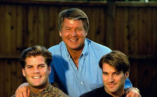Rhonda Rookmaaker's husband Johnson with his sons