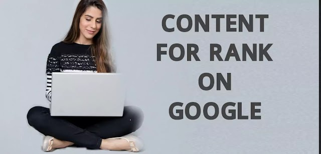 How to get higher rank with SEO friendly Content