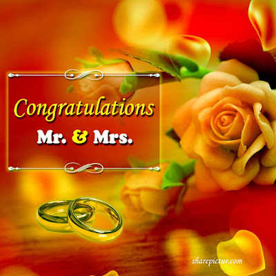 Wishing happy marriage anniversary to a special couple