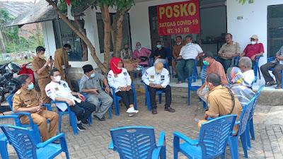 Komisi IV Dewan Perwakilan Rakyat Daerah (DPRD) Kota Tangerang ke wilayah Perumahan Pinang Griya RW.05 dan RW.06, Kelurahan Pinang, Kecamatan Pinang, Kota Tangerang, Provinsi Banten pada Selasa (12/10/2021) melakukan Sidak lokasi terdampak banjir