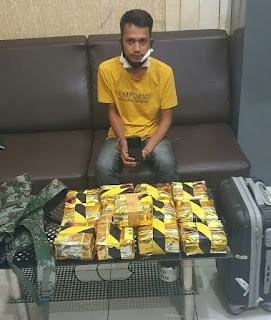 Ditangkap di Pinggir Jalan,  Kurir Sabu 13 Kg Gagal Dapatkan Upah Rp 103 Juta