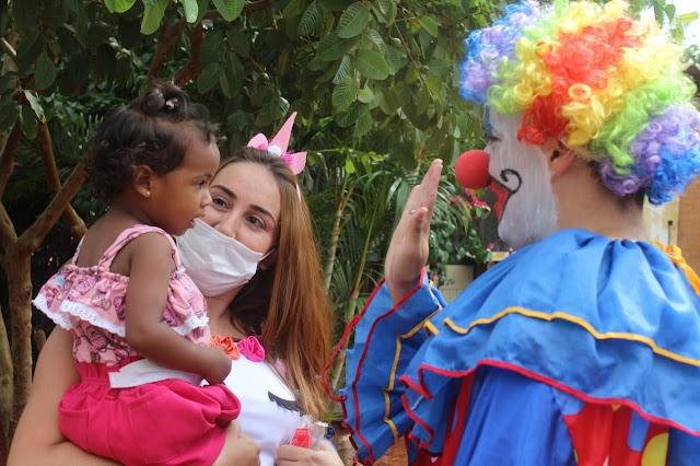 O Hospital Estadual de Luziânia realiza ação social no bairro Cruzeiro do Sul