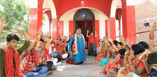 आशीष पाठक के देवी गीत एलबम की शूटिंग सम्पन्न  | #NayaSaberaNetwork