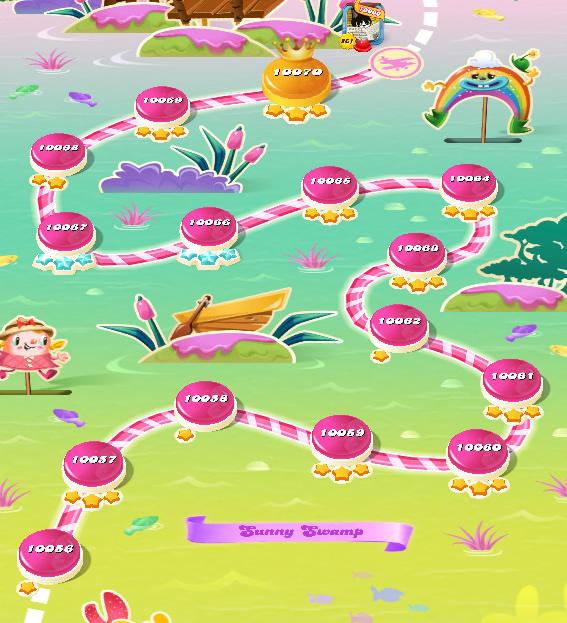 Candy Crush Saga level 10056-10070