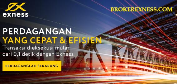 Kecepatan eksekusi broker EXNESS