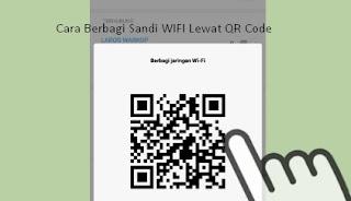 Solusi Mudah Cara Berbagi Sandi WIFI Lewat QR Code