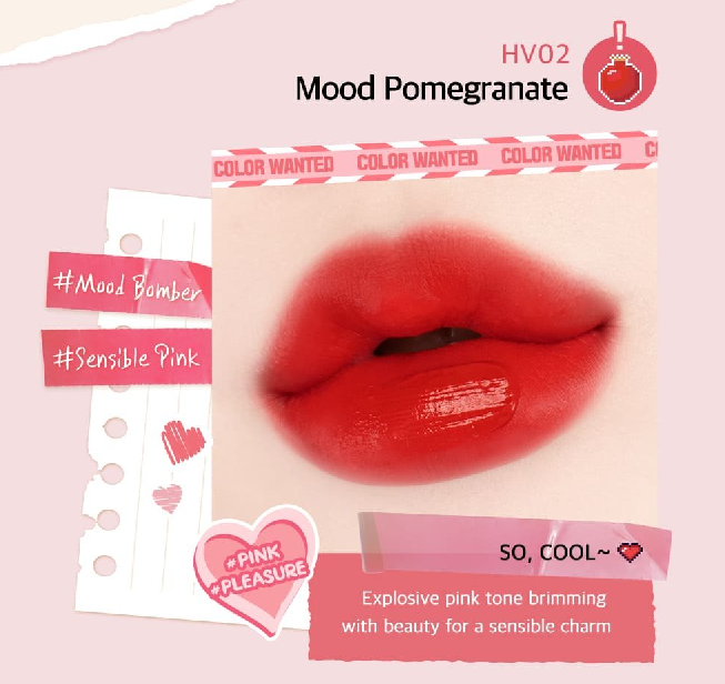 Màu HV02 Mood Pomegranate