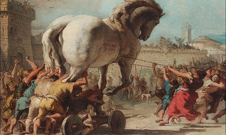 ट्रॉय के घोड़े की कहानी : क्या ऐसा कोई घोड़ा सचमुच था ?