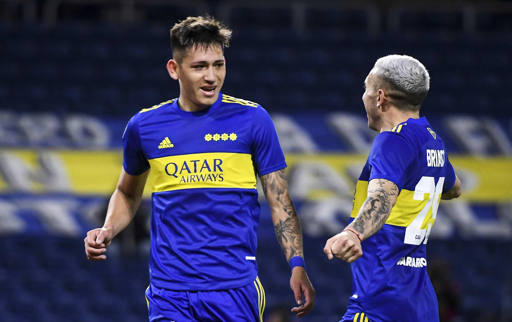 Boca, en el debut de Battaglia, le ganó a Patronato en la Bombonera
