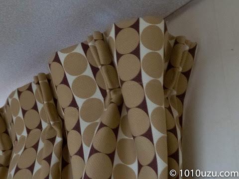 カーテンと壁の隙間がなくなる