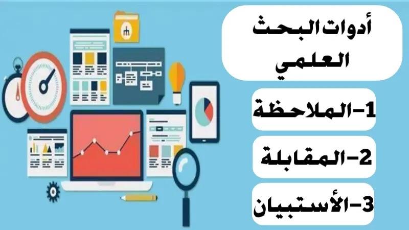 أدوات البحث العلمي- الأستبيان - المقابلة - الملاحظة