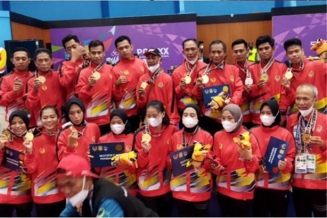 Keren! Sepak Takraw Sulsel Kawinkan Emas di PON XX Papua