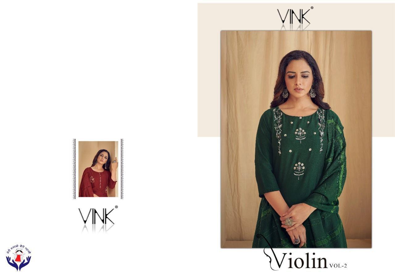 Vink Violin Vol 2 Readymade Salwar Suits Catalog Lowest Price