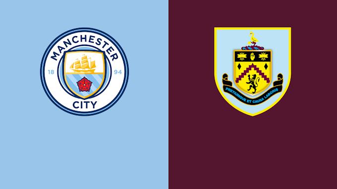 Watch Manchester City VS Burnley Live Match