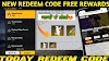 Fee fire new redeem code 22 October