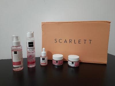 skincare Scarlett Whitening