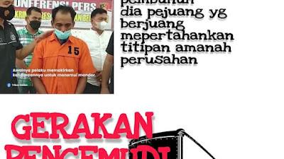 Ketua DBOKC-FSPTSI Medan Minta Jangan Ada Kriminalisasi Hukum terhadap DI