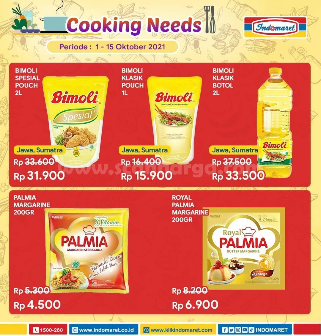 Promo Indomaret Cooking Needs hingga 15 Oktober 2021 1