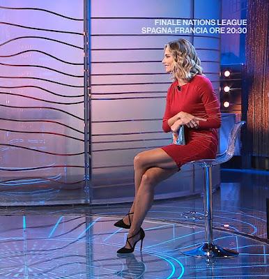 Francesca Fialdini scarpe tacchi alti da noi a ruota libera 10 ottobre
