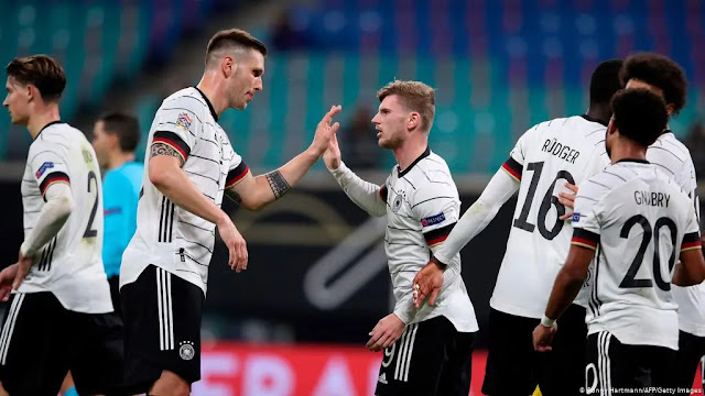 Germany is very close to the ticket to the World Cup 2022. Photo: AFP