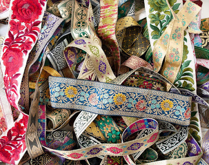 Jacquard Ribbons For Embellishment Craft Supplies